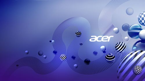 Acer Aspire design wallpaper
