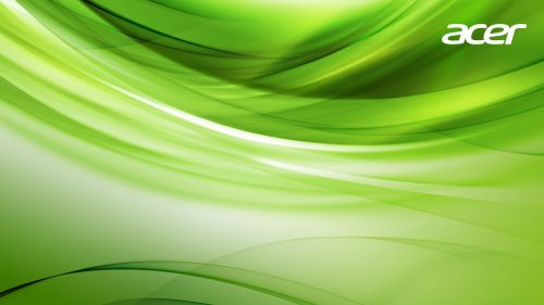 Acer Aspire green wallpaper