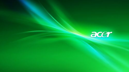 Acer hd green wallpaper