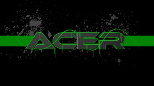 Cool Black Acer wallpaper