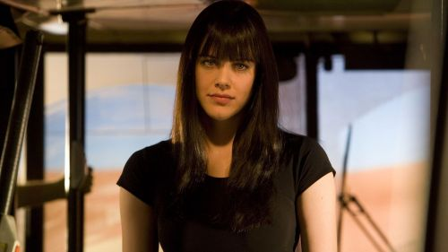 Michelle Ryan blue eyes