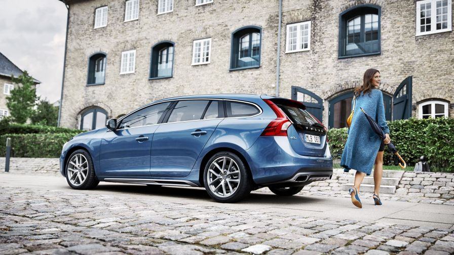 The new volvo v60 2017